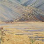 Molesworth View [Marlborough, Hamner region, N.Z.] - $470 - 30x76cm