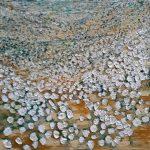 Chammomile - oil - $130.00 - 25x25cm